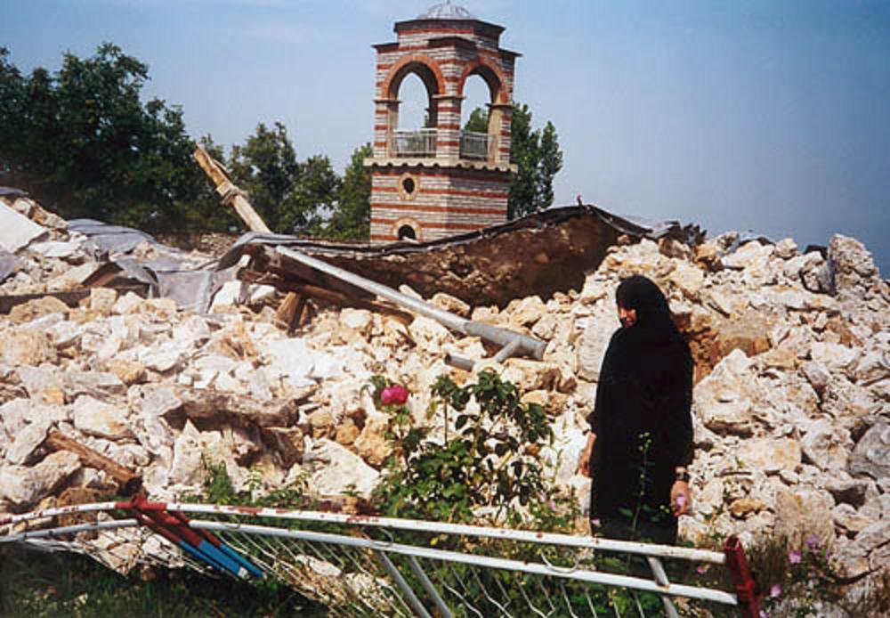 Další křesťanský chrám zničený muslimy