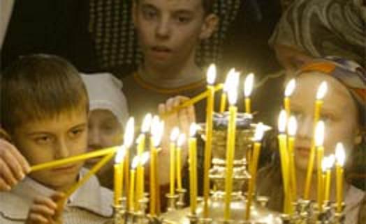 σαρακοστή κεριά παιδιά