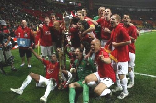 FC Manchester United From England Won The Champions League Cup For Third Time In Its History By Beating Chelsea 6 5 On Penalties After A Dramatic 1