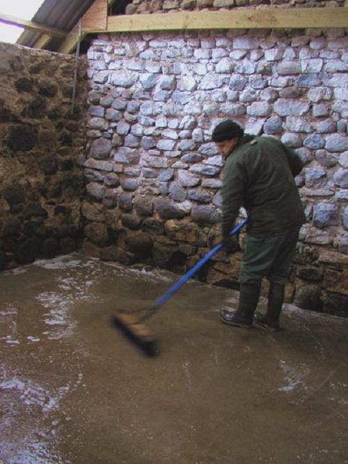 mucking-out-the-byre