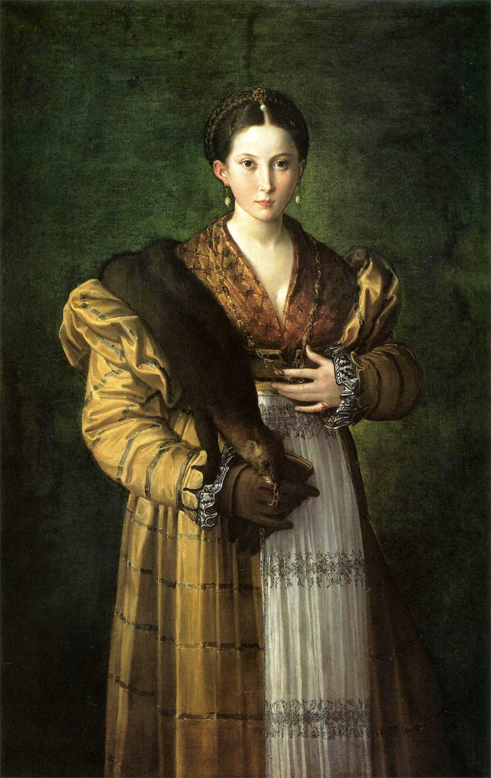 14 May 2008. A Shot of Culture, if you please… » Parmigianino (Girolamo  Francesco Maria Mazzola). Antea. 1534