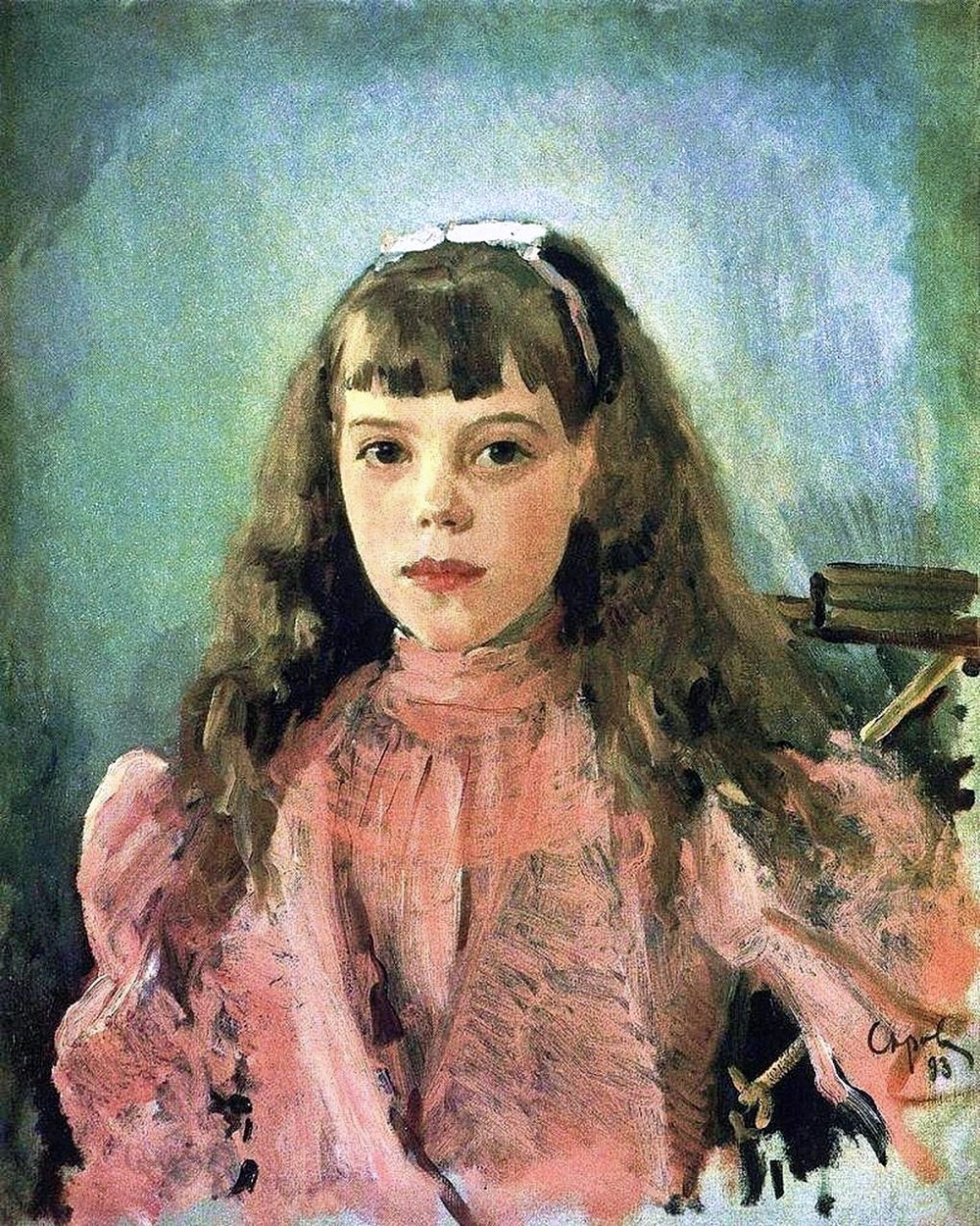28 May 2008. A Shot Of Culture, If You Pleaseu2026 » Valentin Serov. A Portrait  Of Grand Princess Olga Aleksandrovna. 1893