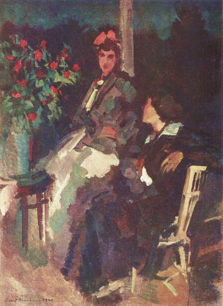 konstantin-korovin-on-the-terrace-1920