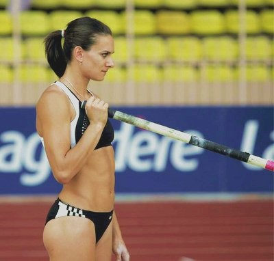 Pole Vaulter Woman Russian Internet