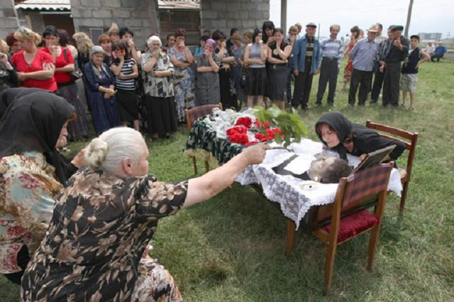 south ossetia funeral