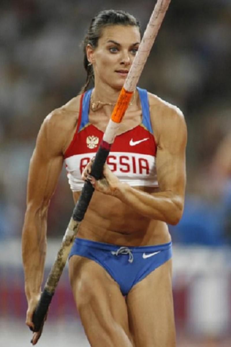 Pole Vaulter Woman Russian Internet