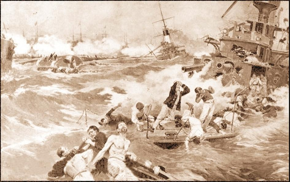 Sinking of the Battleship Borodino