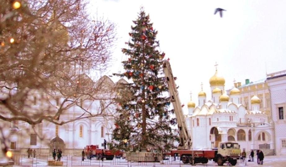 Kremlin Christmas Tree 2010 | Voices from Russia