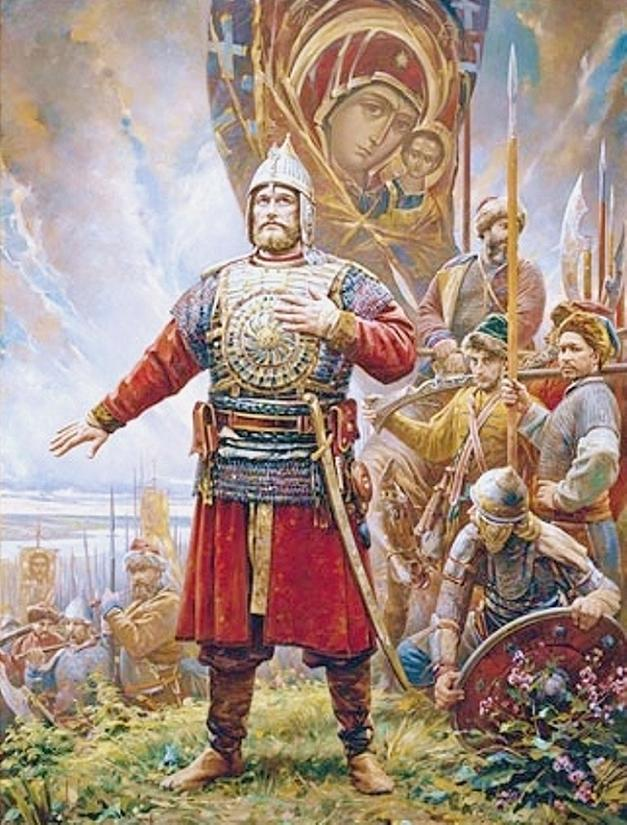 Vasili Nesterenko. The Oath of Prince Pozharsky. 2008