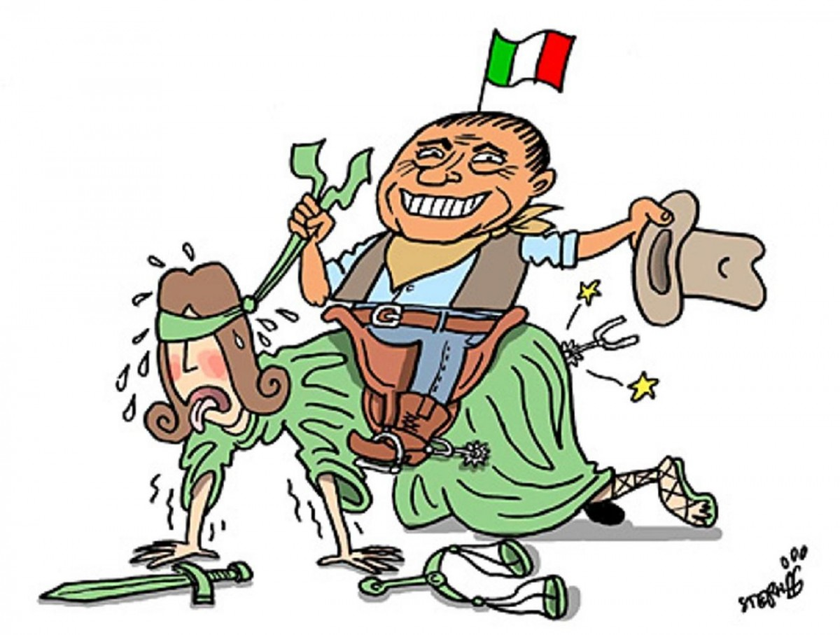Berlusconi tames the court