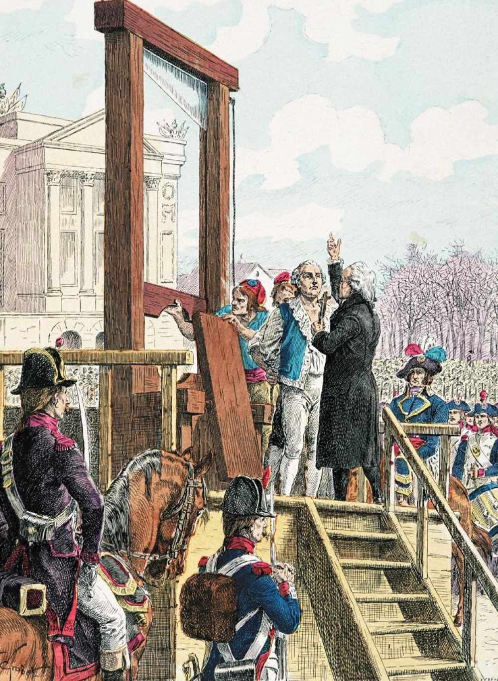 king louis xvi was the most What made the french so angry with king louis xvi that they demolished the monarchy and guillotined their king and queen during the french revolution.
