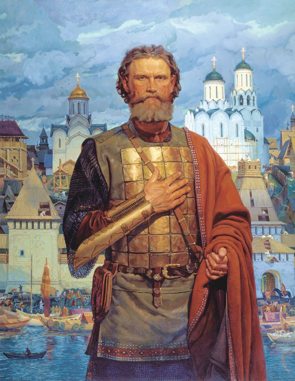 Viktor Matorin. Holy Right-believing Grand Prince Dmitri Donskoi of Moscow. 2004