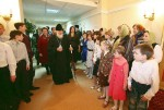 Patriarch Kirll at Orphanage