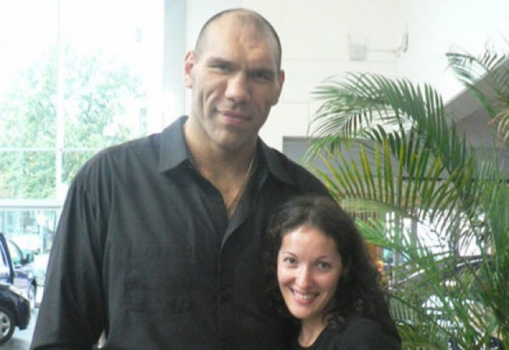 valuev with wife