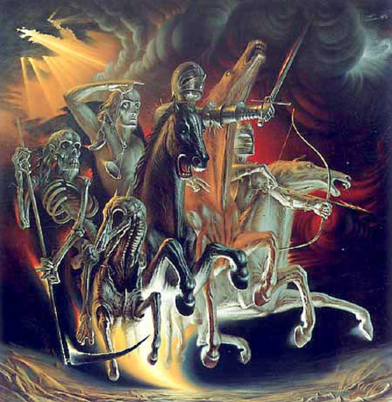 Fr Vladislav Provotorov. The Four Horsemen of the Apocalypse. 1985