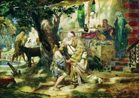 Henryk Semiradsky. The Prodigal Son