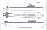 01 Planview of K141 Kursk.Project949A