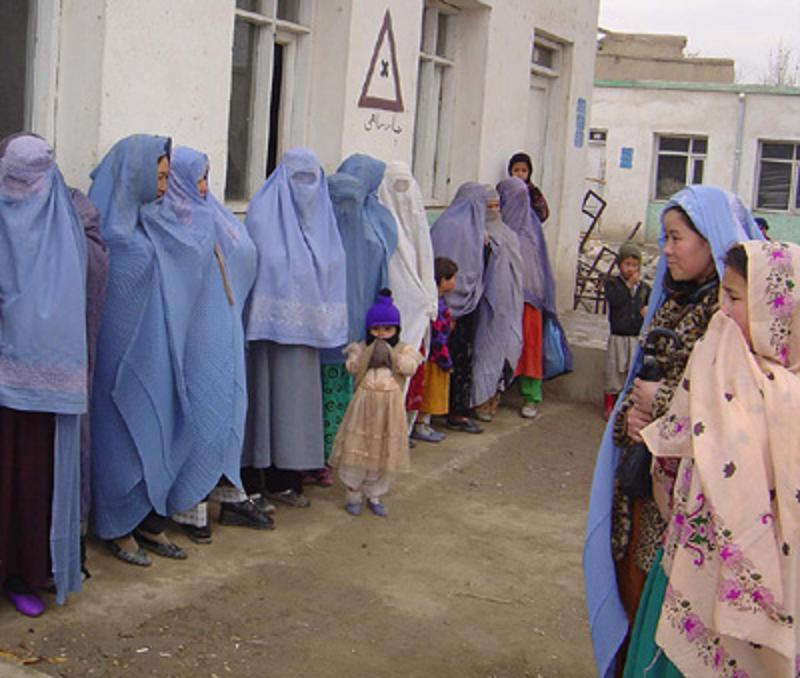 afghan-women-vote