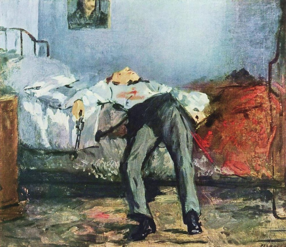 Édouard Manet. The Suicide. 1877