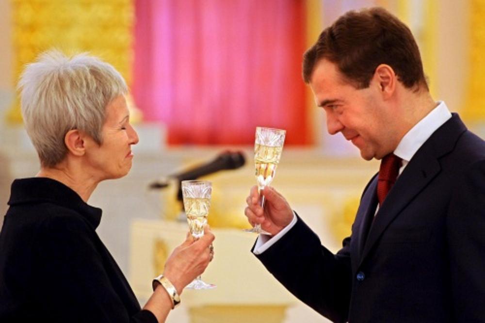 Medvedev with Kurjak