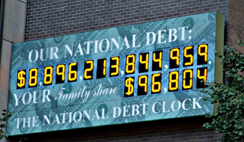 national debt scoreboard