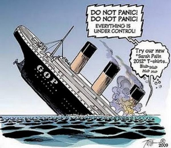 Gop Sinking Ship Voices From Russia