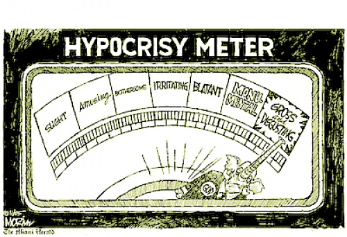 01 Hypocrisy Meter