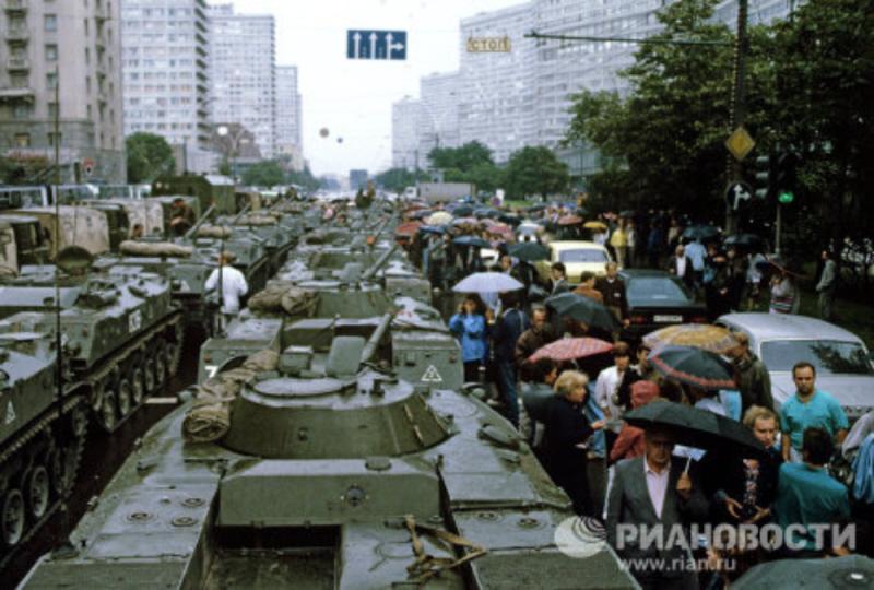 Августовский путч ГКЧП Хроника событий 19-22 августа 1991 года