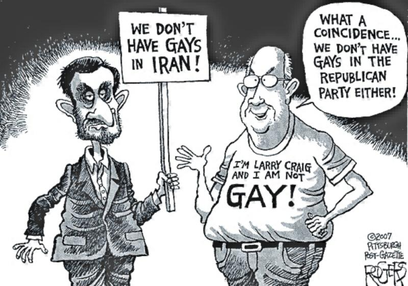 Gay Rights Cartoons and Comics - funny pictures from ...  Gay Rights Cartoon