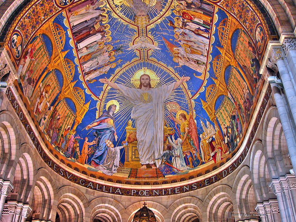 01d Dome Of Basilique Du Sacr 233 C Ur Sacred Heart In