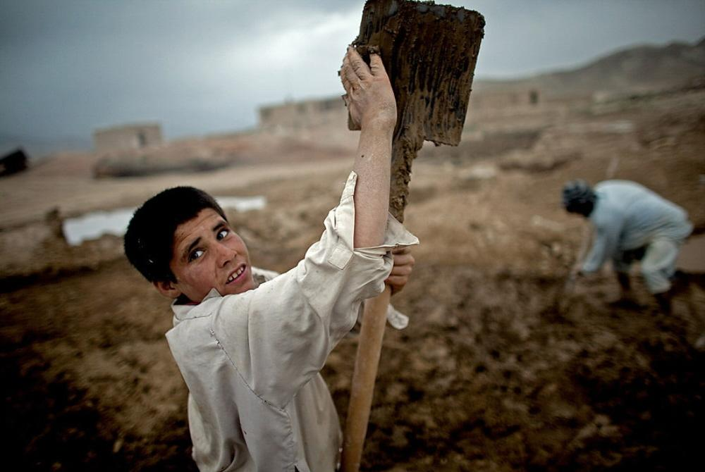 Essay. THIS is what the USA Supports in Afghanistan… CHILD LABOUR ...