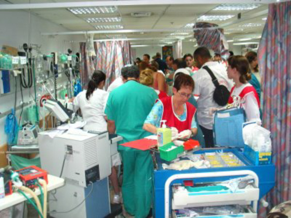 An UPDATE On The Request For Prayer 01 Emergency Room Crowded
