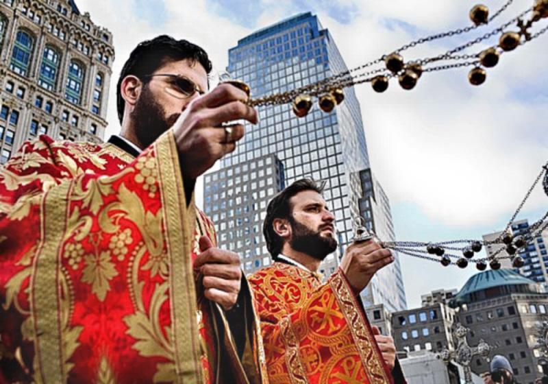 Stall Wtc Rebuild Greek Orthodox Priests Site Nicholas