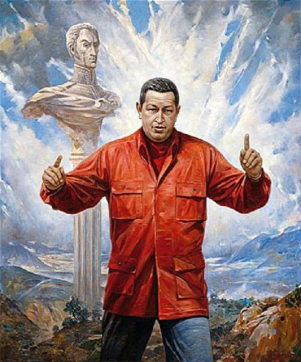 Vasili Nesterenko. Hugo Chavez. 2008
