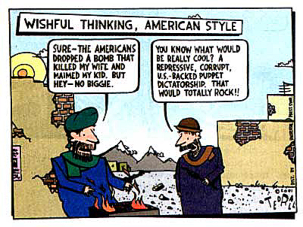 01 Ted Rall Afghanistan illusions
