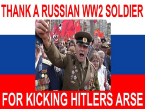 01 Thank a Russian WW2 Soldier for Kicking Hitler's Arse