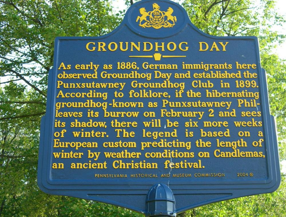 """essay about groundhog day Movies and the meaning of life (2005), which includes the essay """"what  nietzsche could teach you: eternal return in groundhog day"""" for monday my ."""