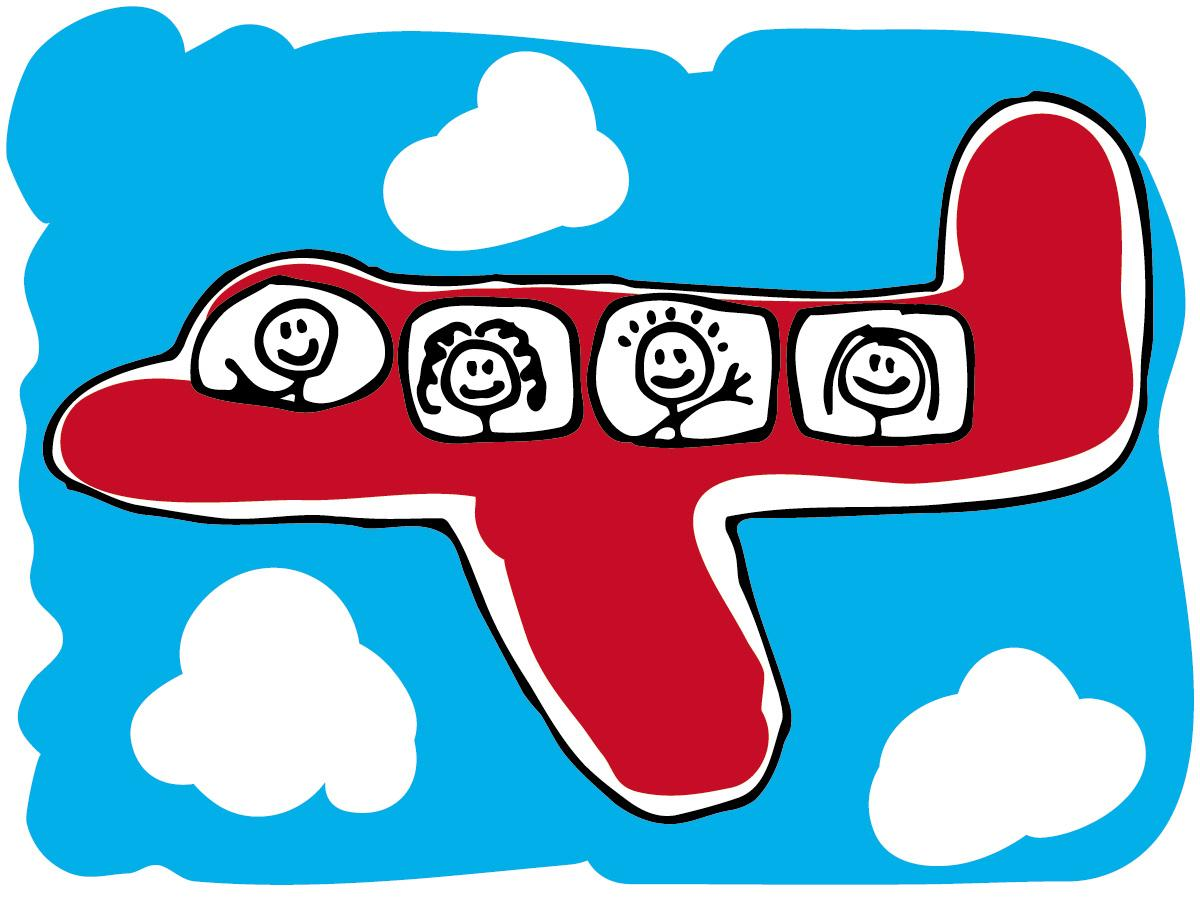 01 airliner airplane cartoon