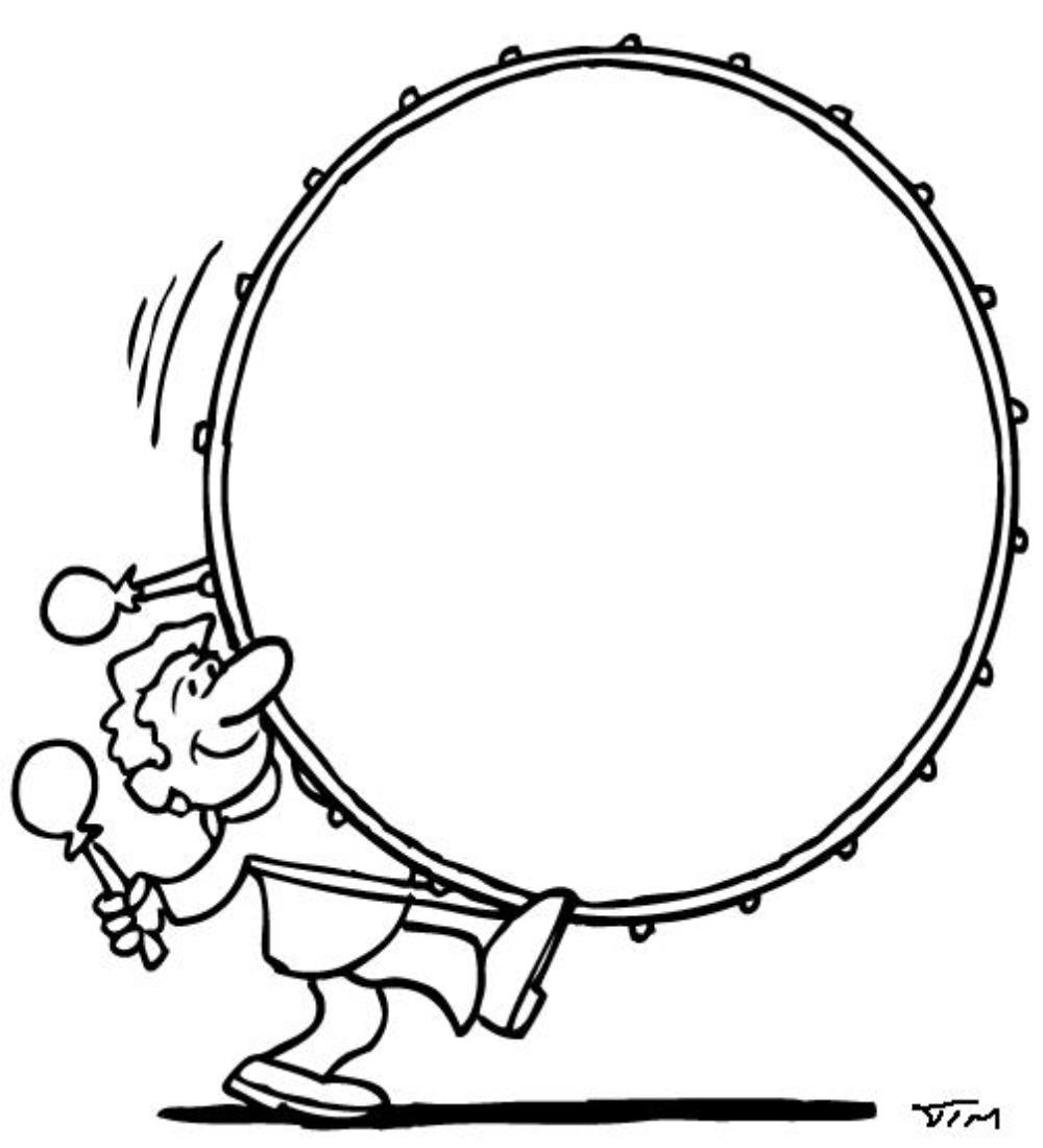 Free Coloring Pages Of Bass Drum Drum Coloring Page