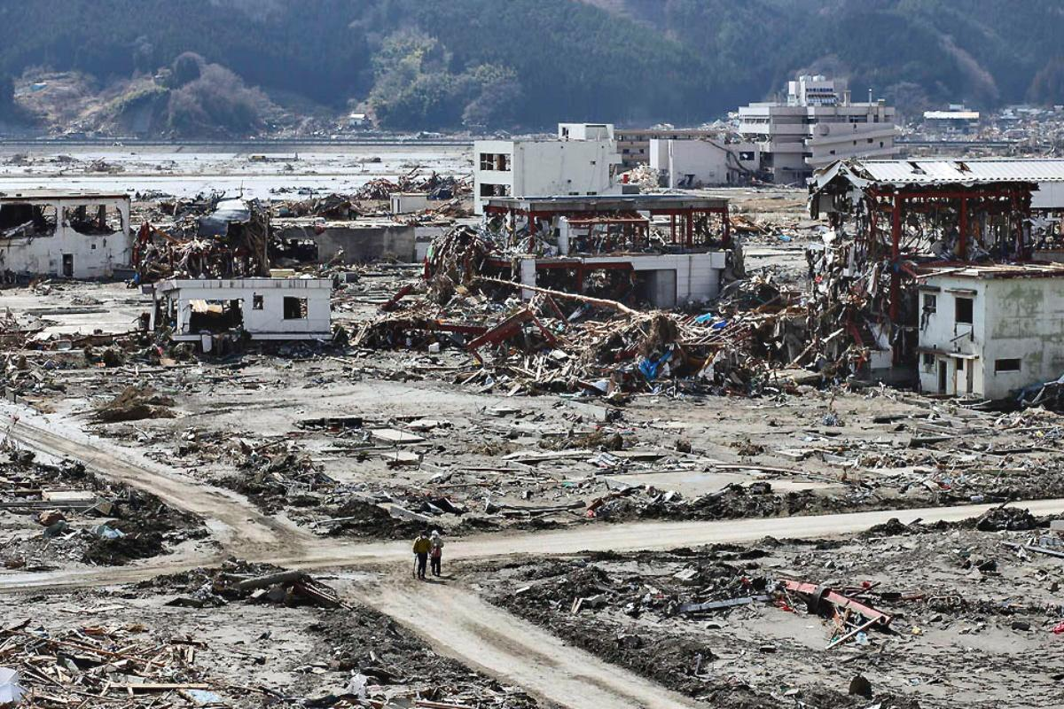 a photo essay the after effects of the tsunami as seen by  rikuzentakata