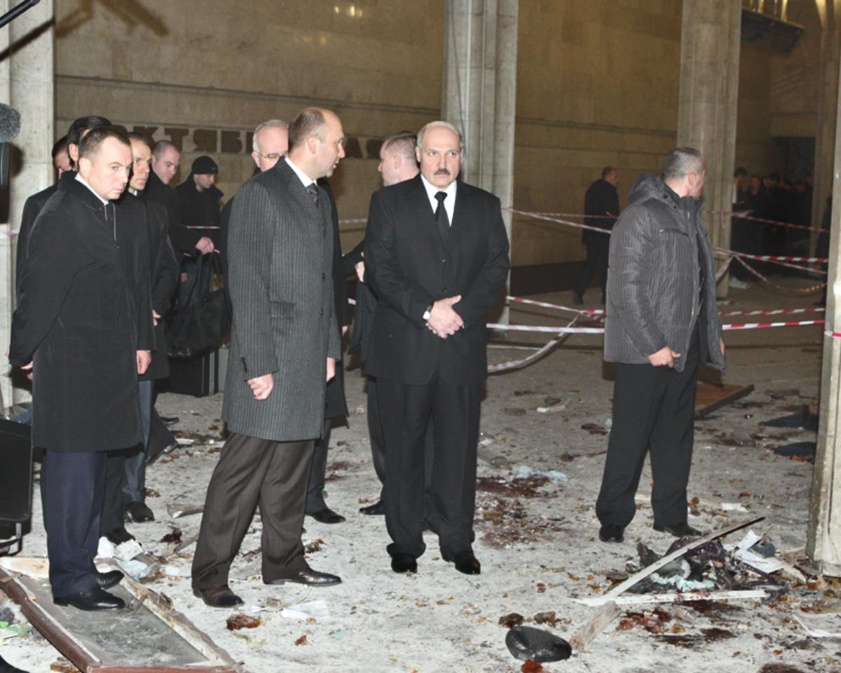 01 minsk metro blast 2 An explosives expert at the RF MoD believed that the explosion in Minsk ...