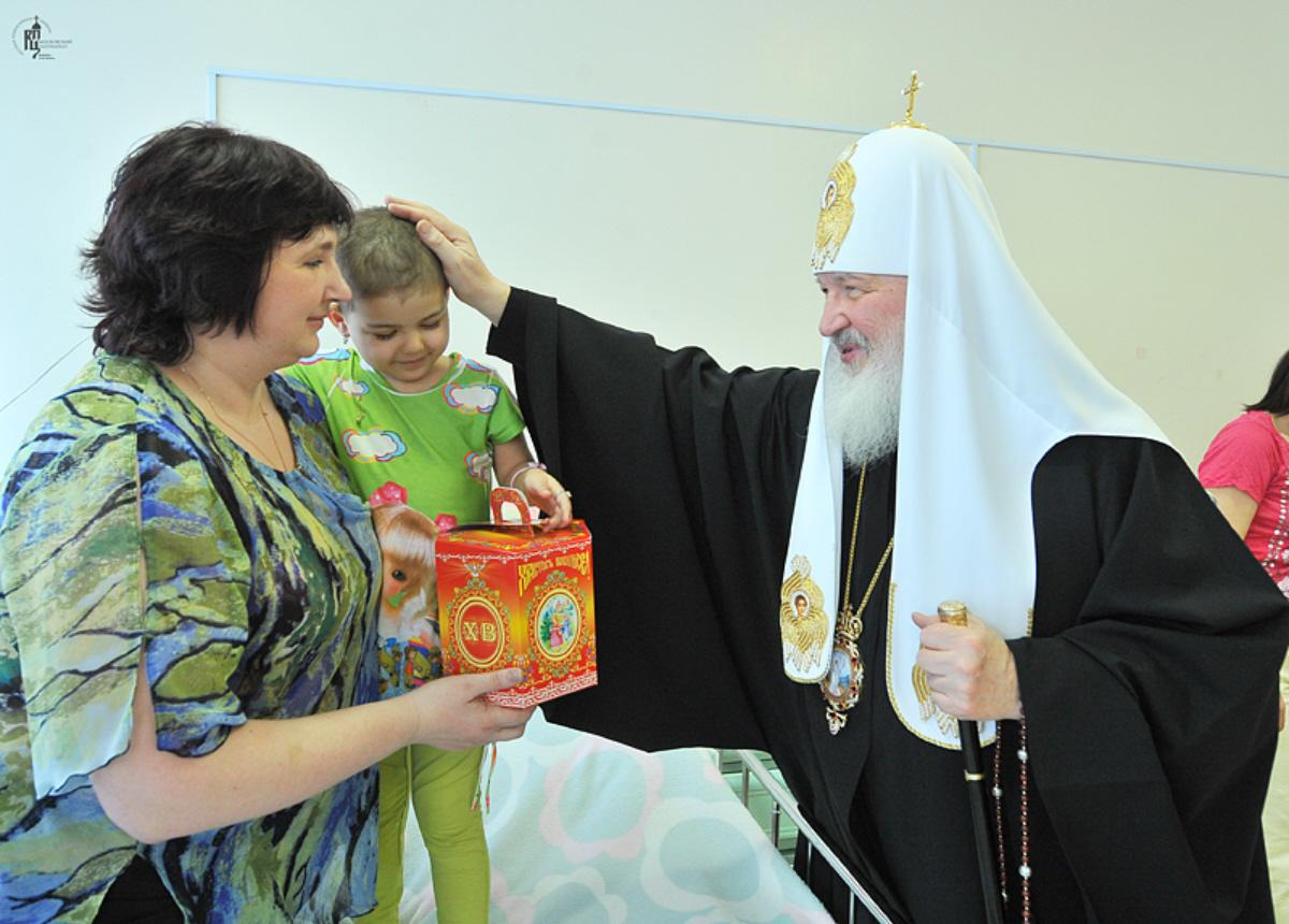 05l Patriarch Kirill Oncology Visit Easter 2011