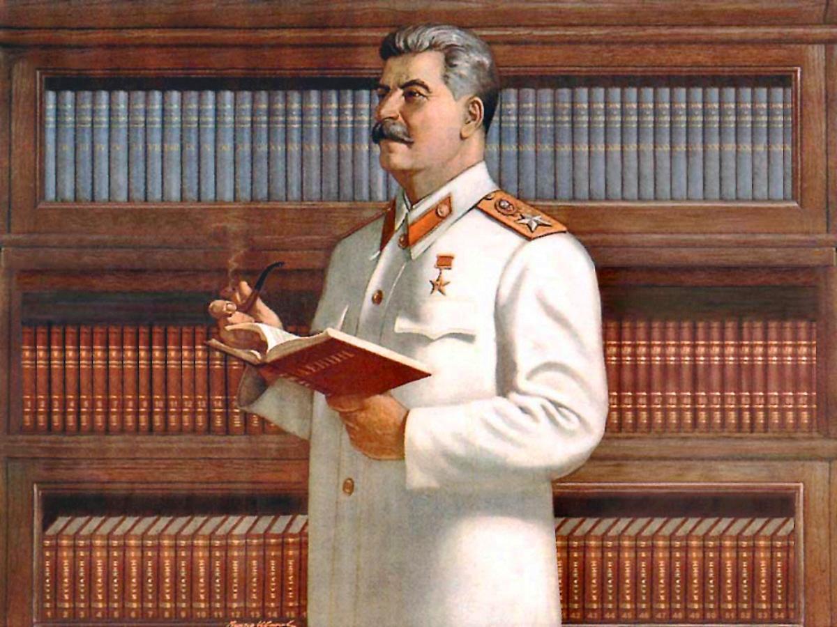 01 Joseph Stalin Soviet Poster