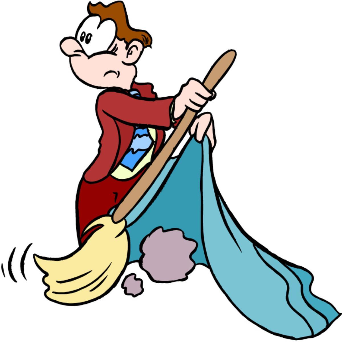 01 sweep under rug