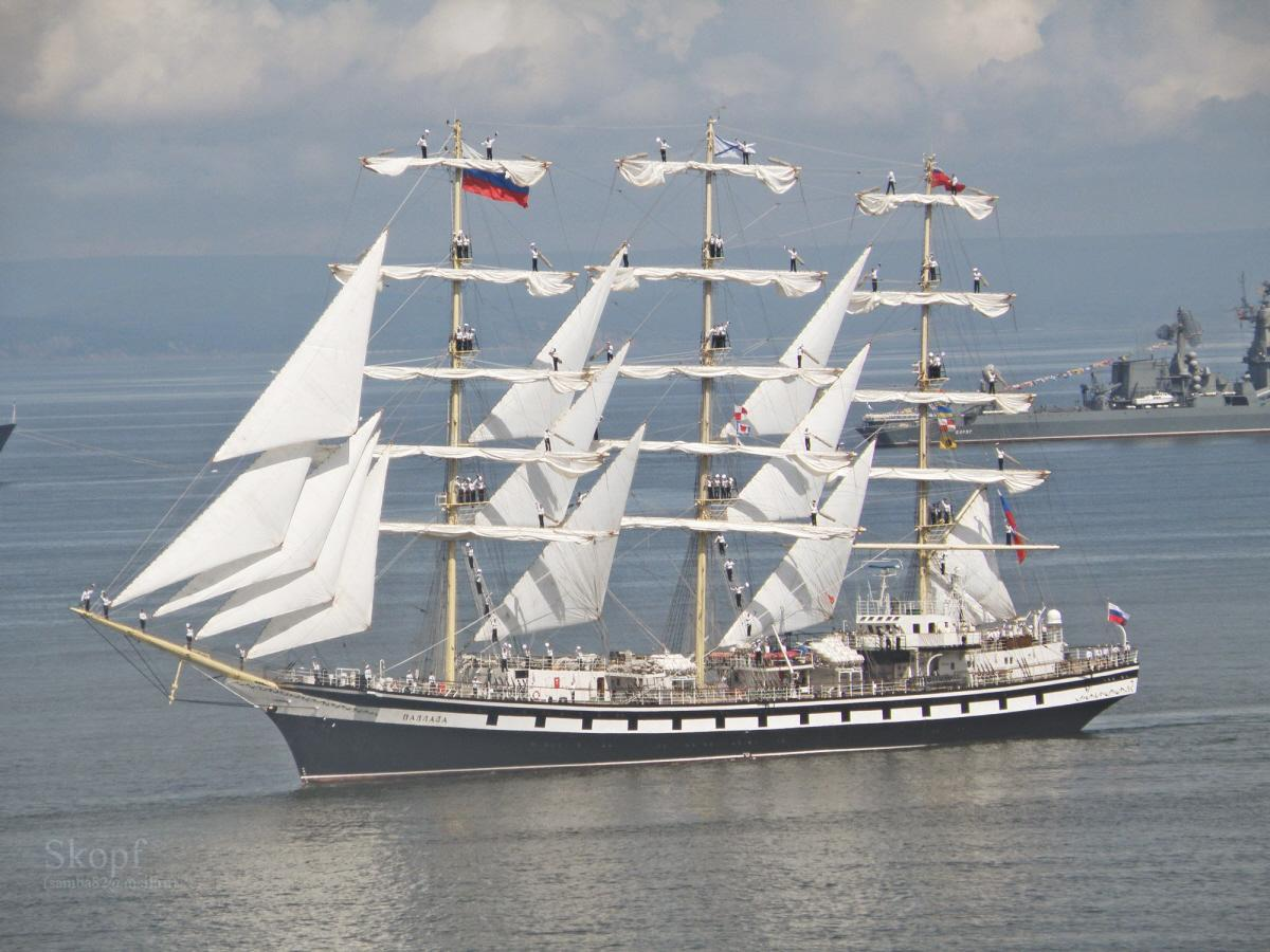01 Russian sail training ship Pallada | Voices from Russia