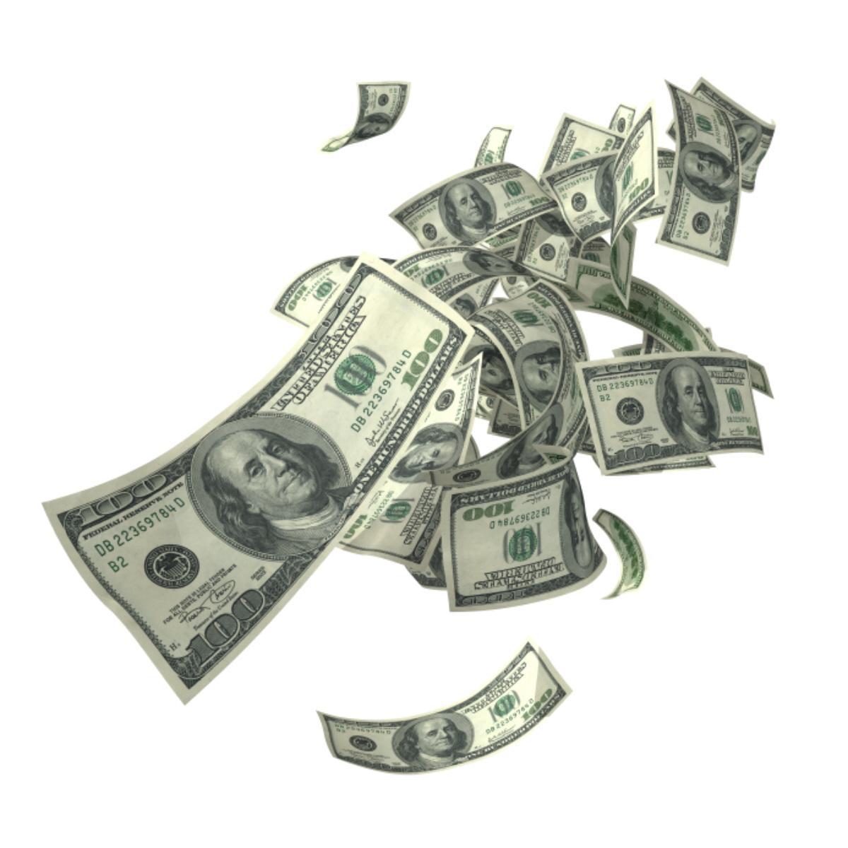 01 throwing away money