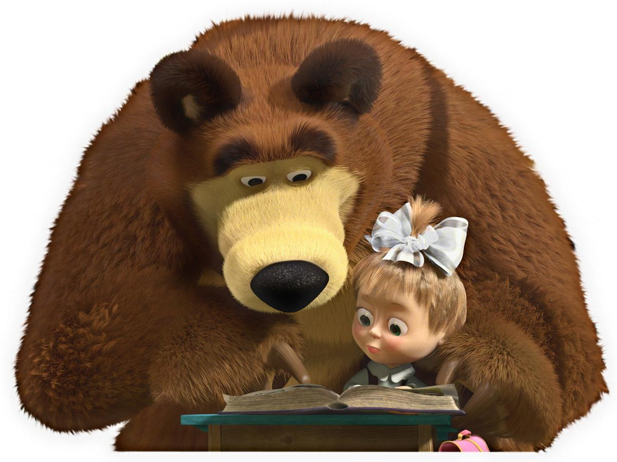 04 Masha and the Bear Reading