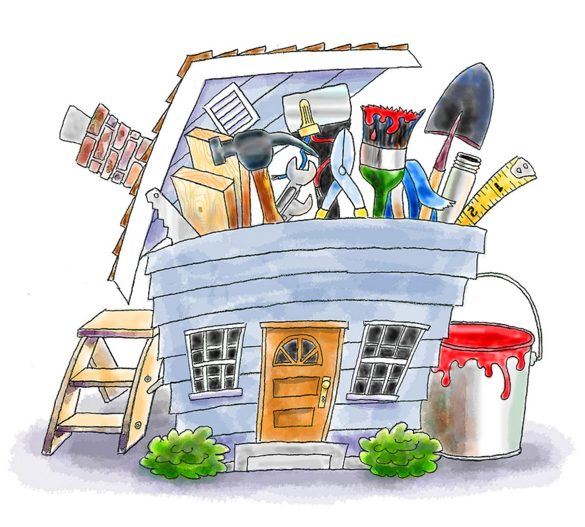 Amazing Home Improvement Clip Art Cartoon 1200 x 1080 · 173 kB · jpeg