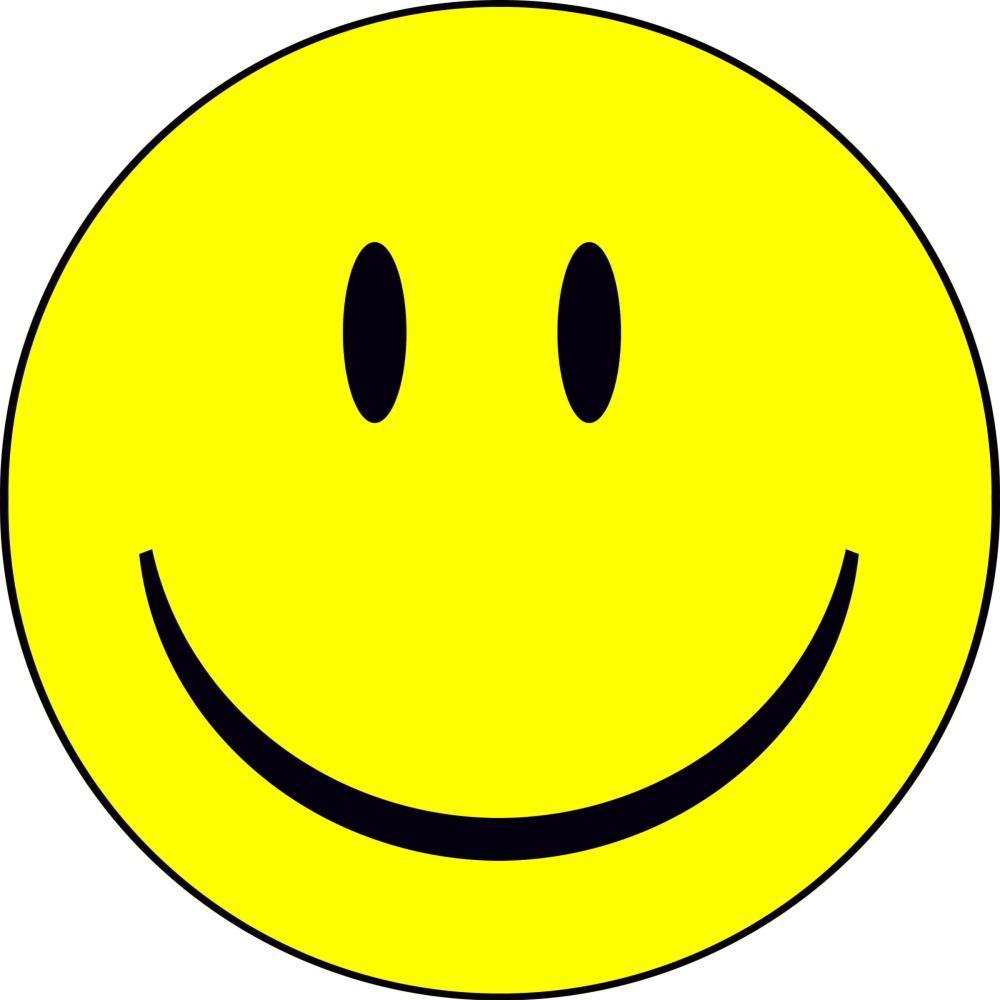 a smily face