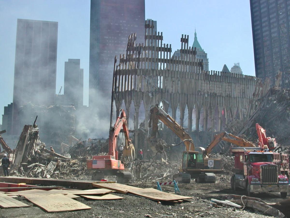 01aaad WTC Collapse
